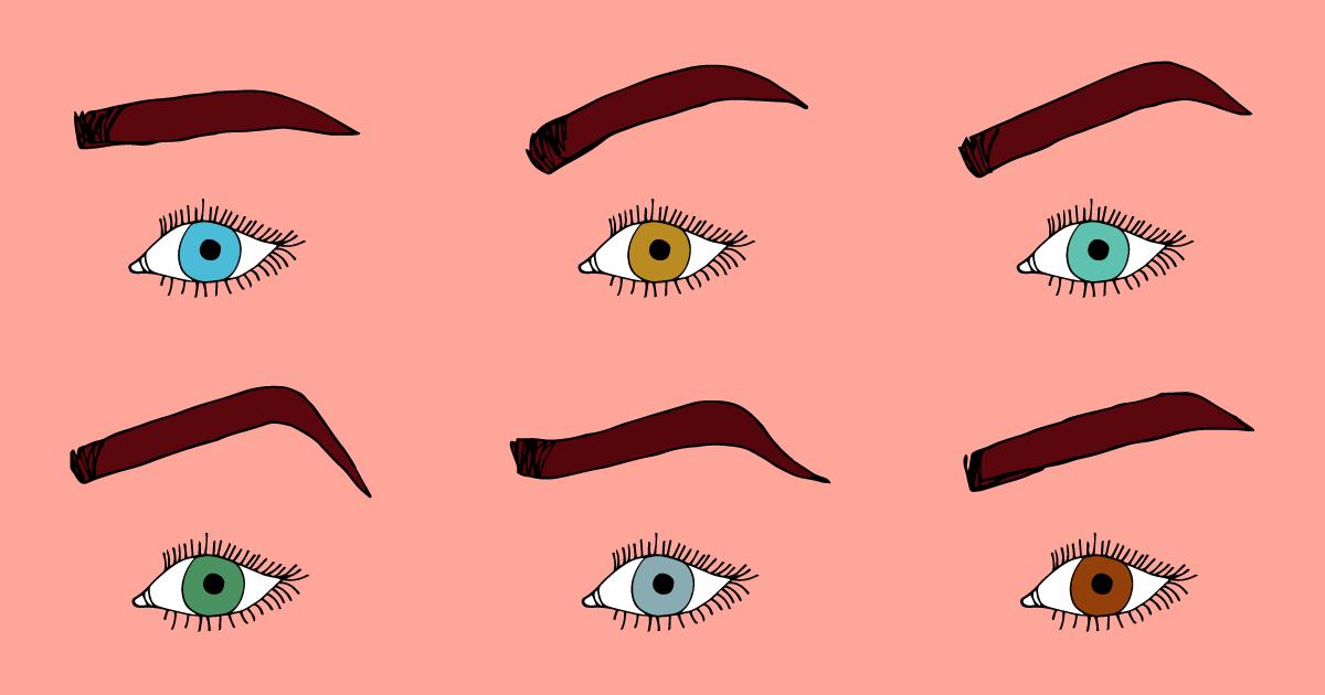Tutte le forme di sopracciglia: scegli quella giusta per il tuo viso