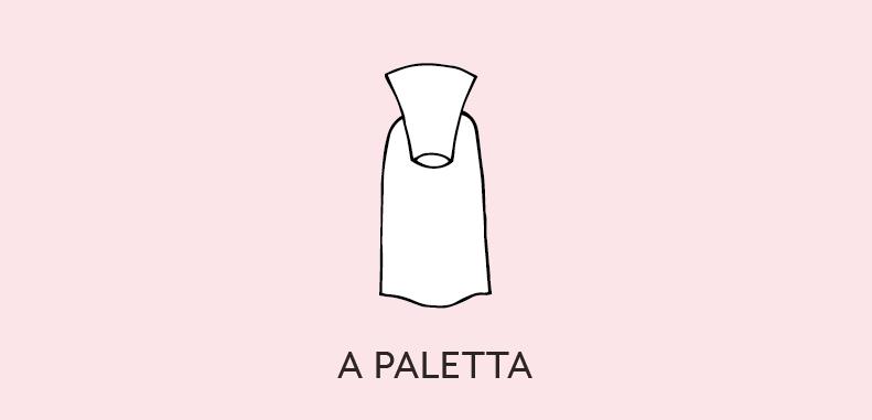 unghie a paletta