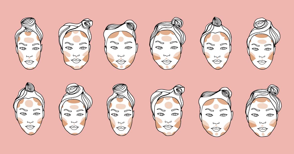 Contouring: le linee guida in base alla forma del viso