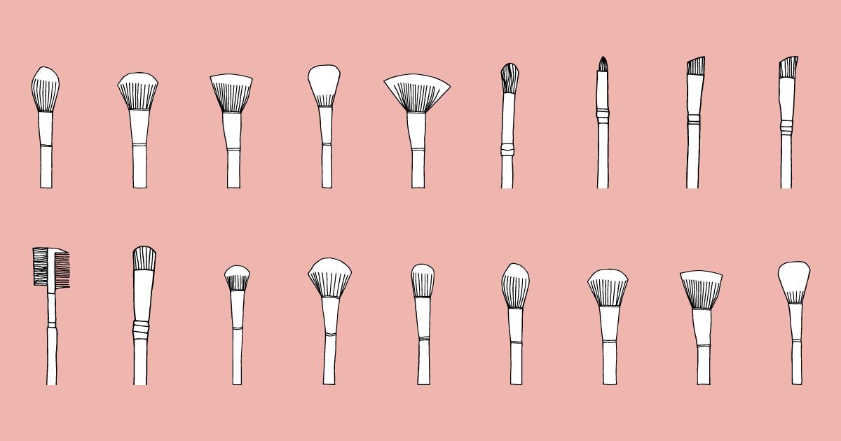 Vademecum pennelli trucco: tutte le forme e come usarli correttamente
