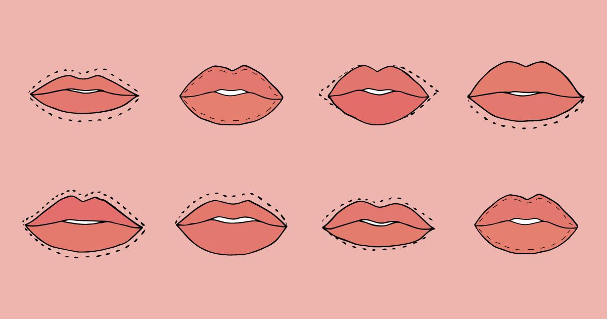 Correggi la forma delle labbra con queste linee guida