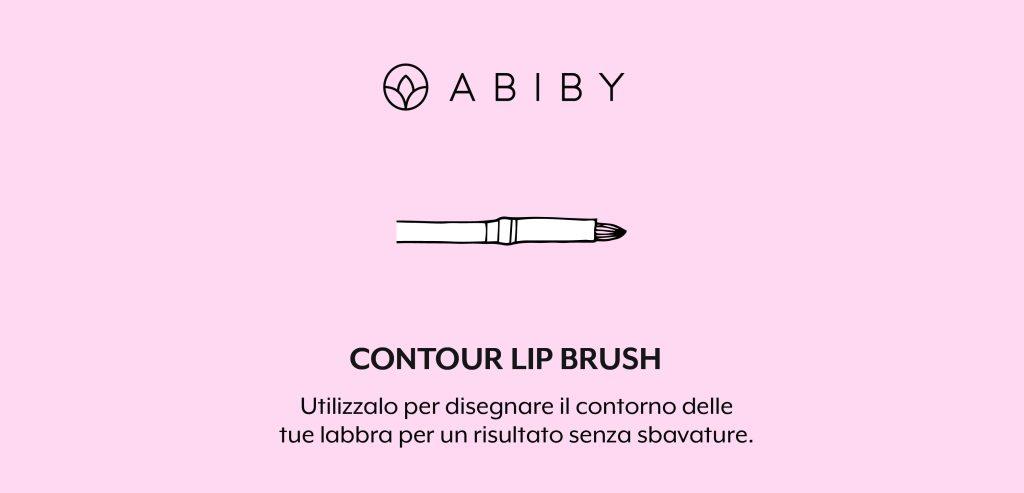 Brush contorno labbra