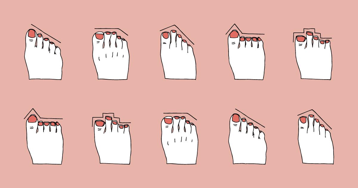 Che forma hanno i tuoi piedi? Dicono qualcosa sulla tua personalità