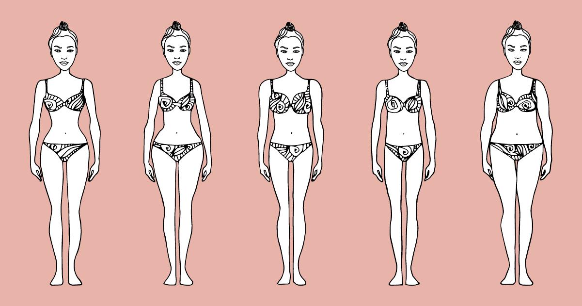 Forme del corpo femminile: qual è la tua?