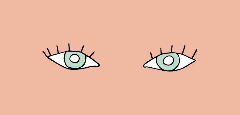 Occhi incappucciati