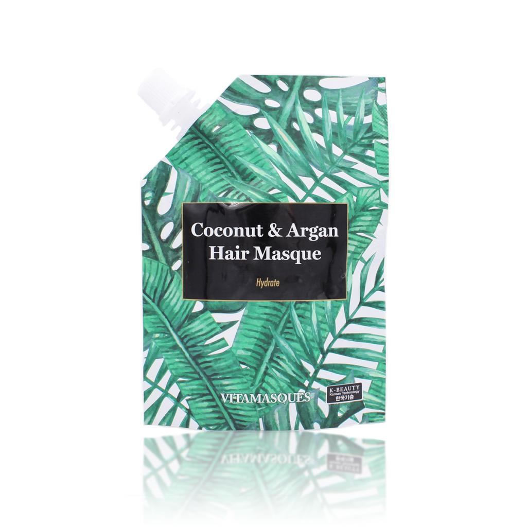 Maschera per Capelli – Coconut & Argan