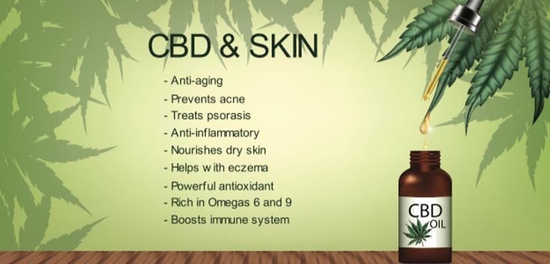 cbd oil skin