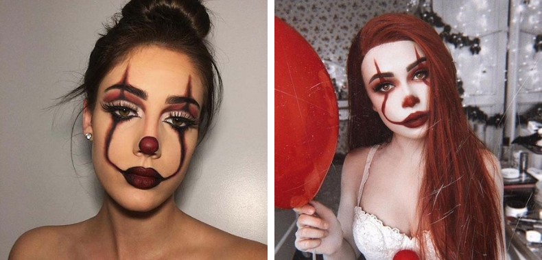 trucco halloween it pennywise