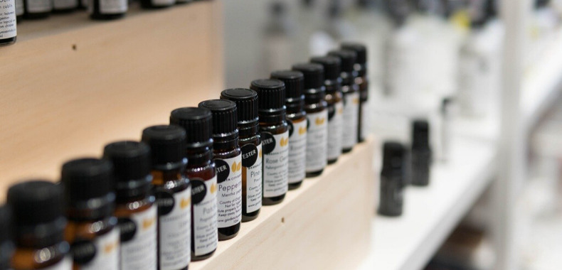 Etichette olii essenziali inci