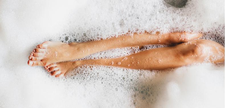 bagno con bicarbonato