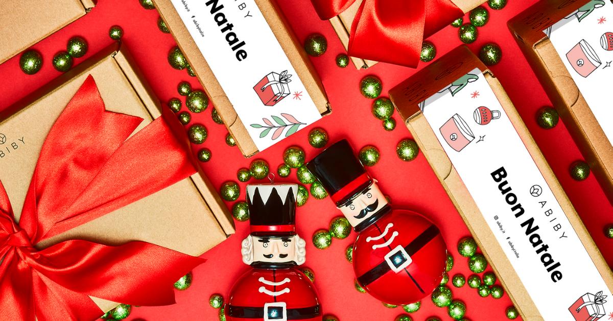 Regali di Natale by Abiby: Box Regalo, Kit e Piano Flessibile per la persona che ami!
