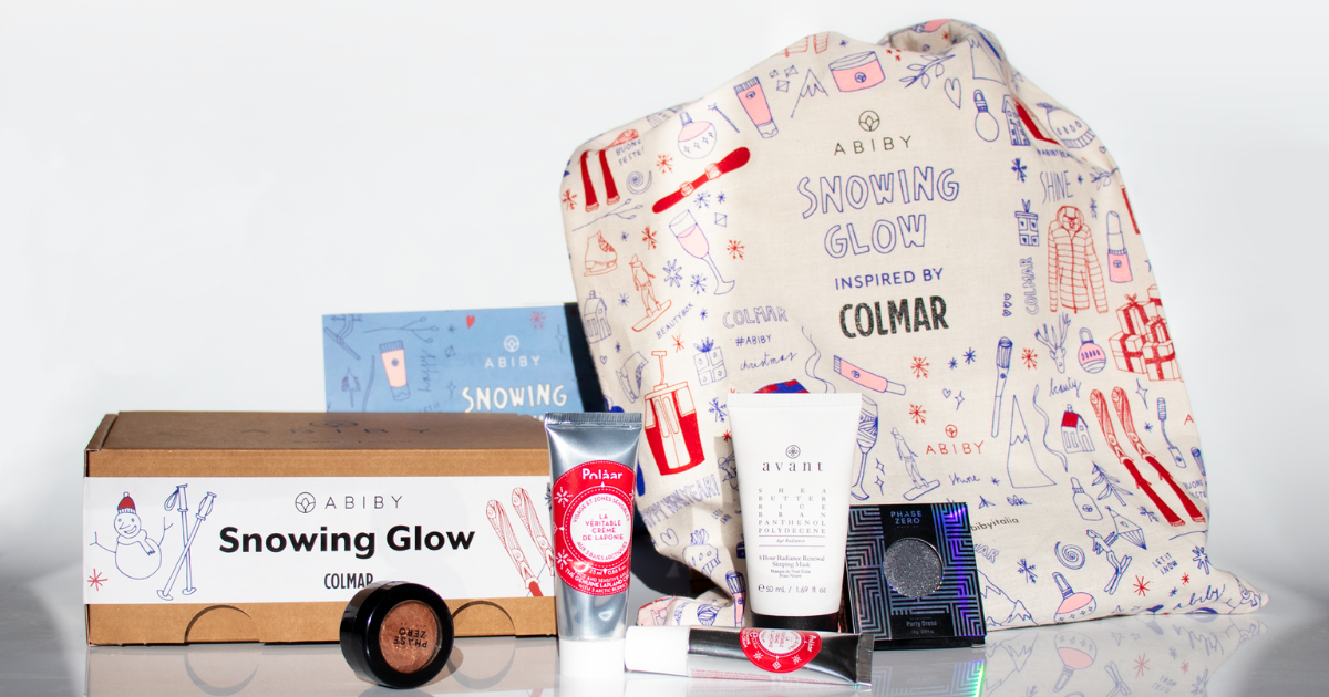 Unboxing Time: Snowing Glow la beauty box di dicembre