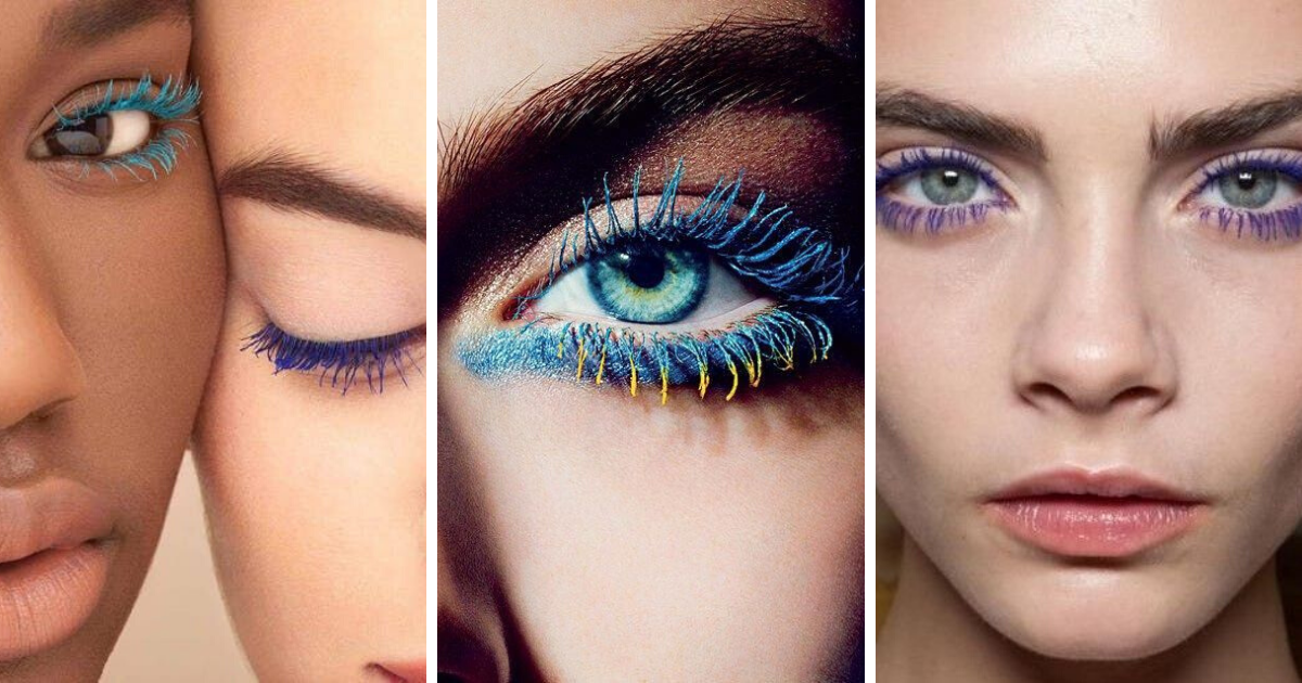 Mascara colorati: come e quando usarli