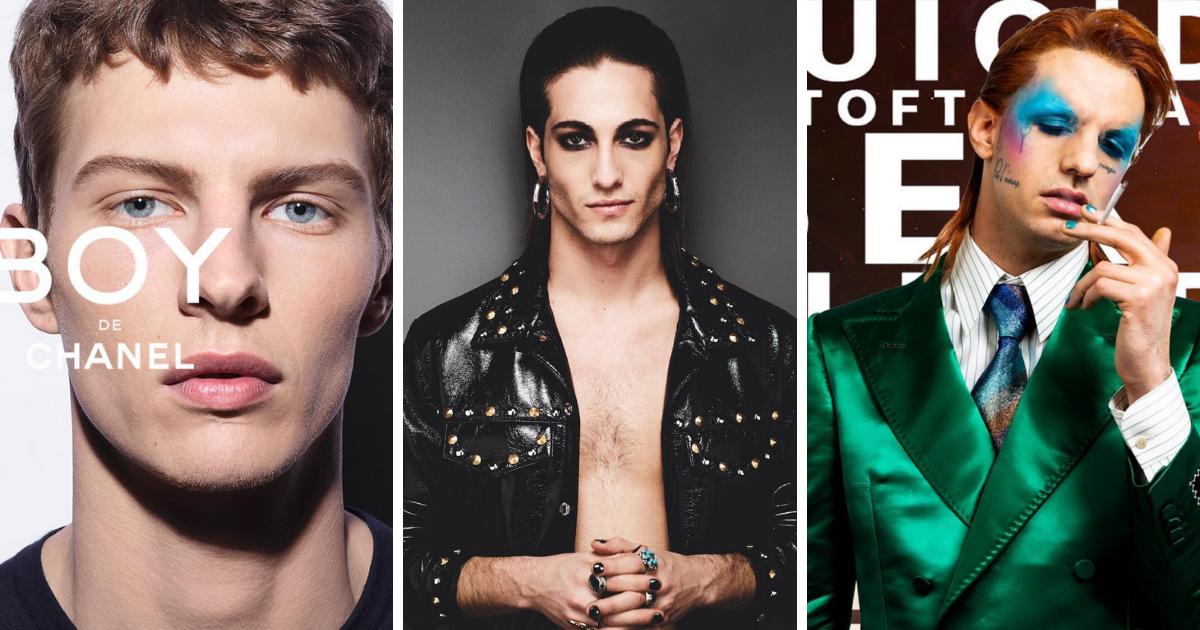 Chanel Boy e il trend 2020 del beauty e makeup maschile
