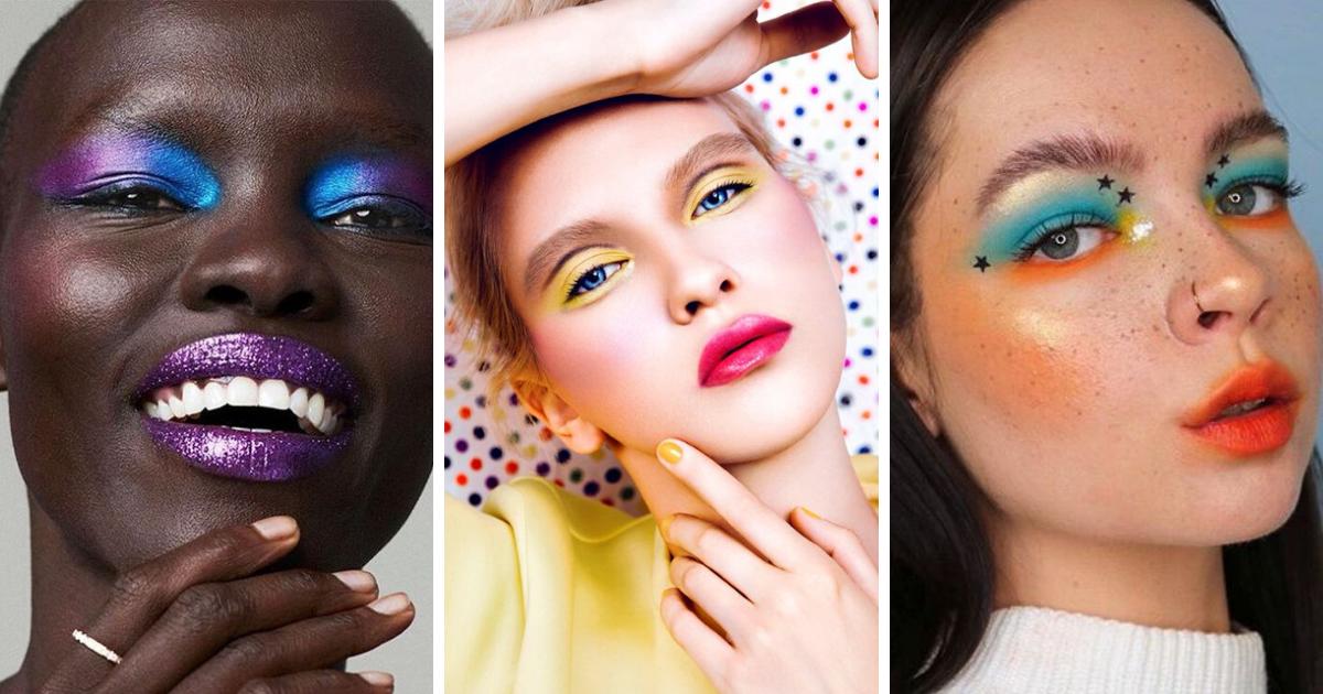 Color block makeup: il trucco audace e vitaminico per l'estate 2020