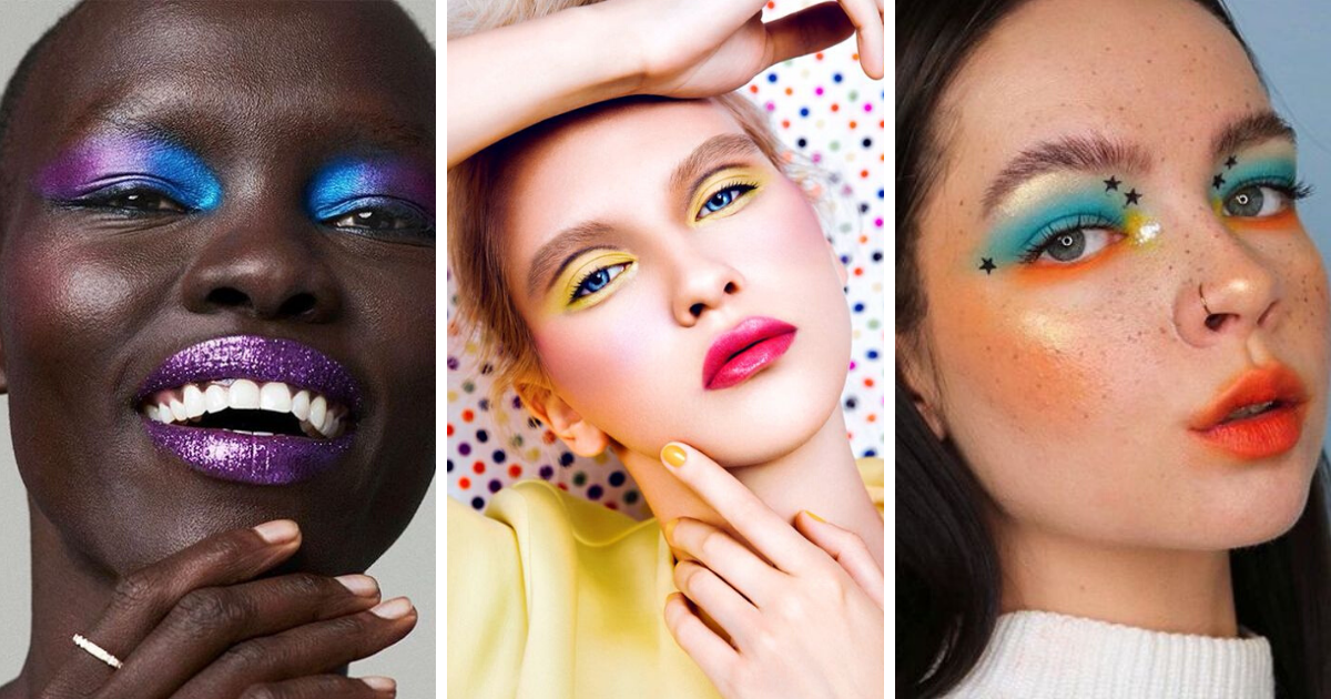 Color block makeup: il trucco audace e vitaminico per l'estate 2020