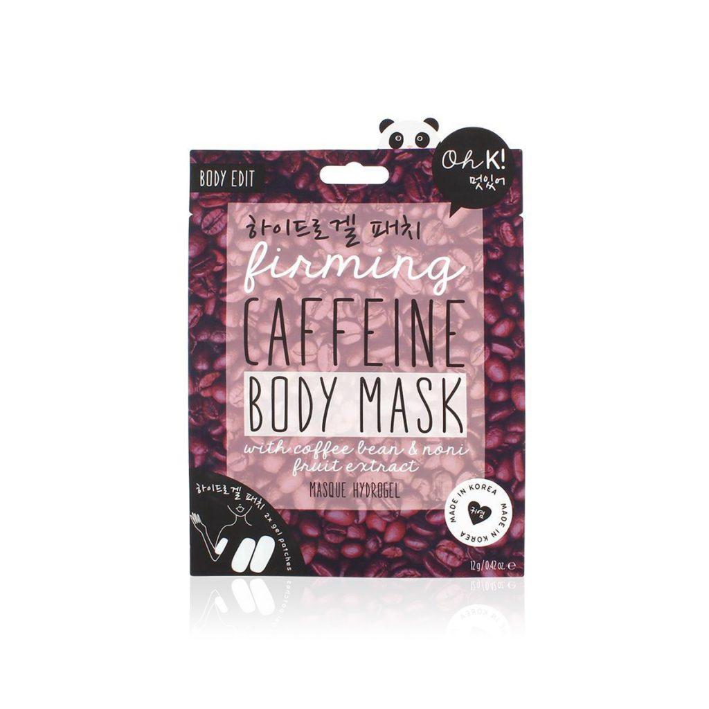 Maschera Corpo Rassodante alla Caffeina