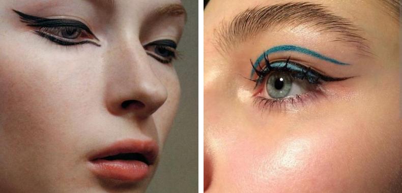 eyeliner idee cleopatra