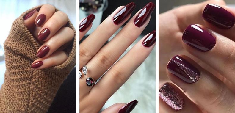 trend-unghie-colore-autunno-2020-burgundy