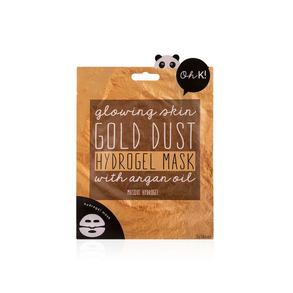 Kit Maschere Idrogel – Gold Dust