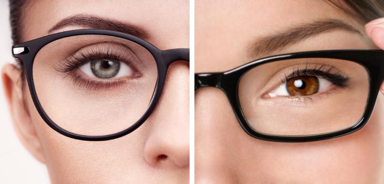 trucco-occhiali-differenze
