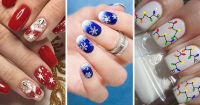Unghie Natale 2020: come usare gli stickers per entrare nello spirito natalizio