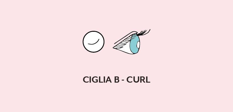 Ciglia B-curl