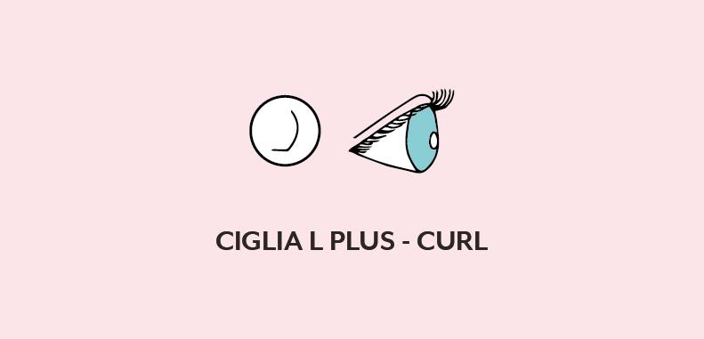 Ciglia L plus curl