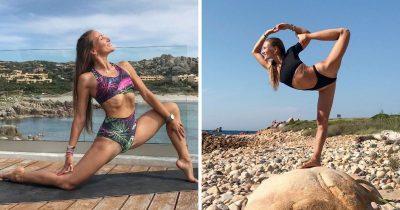 Intervista a Erika Matuskova: chi è la yoga trainer di Abiby sui social?
